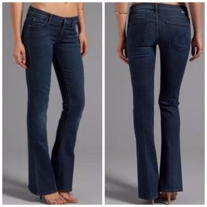 NWT💕MOTHER THE RUNAWAY Skinny Flare Jeans